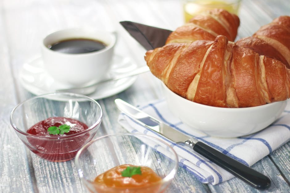 Join Us at Our Business Breakfast - coffee-morning-breakfast-croissant