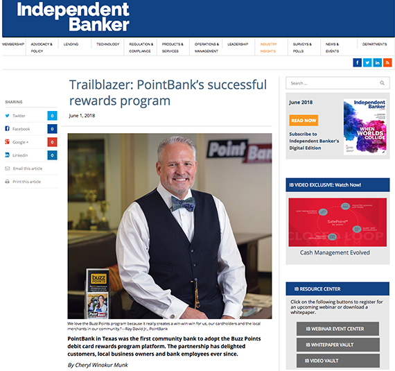 News and Press Releases - trailblazer-pointbank-successful-rewards-program