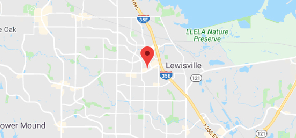 Lewisville Map Image